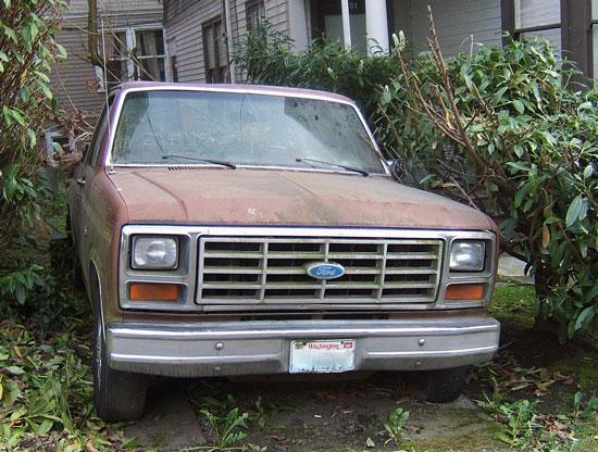 Ugly, Abandoned Truck