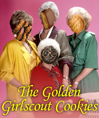 The Golden Girlscout Cookies