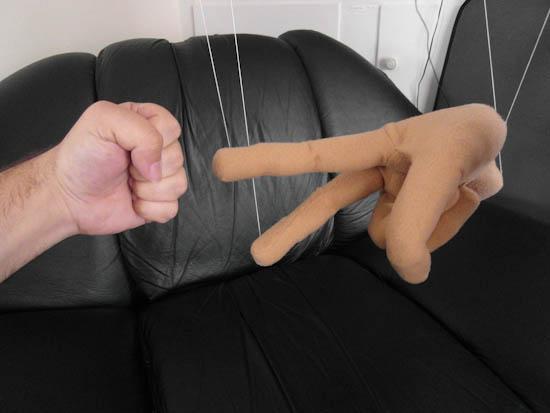 Hand puppet sex