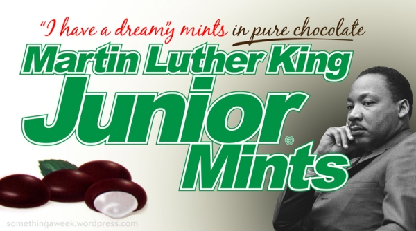 Martin Luther King Junior Mints