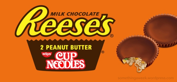 Reese's Peanut Butter Cup Noodles