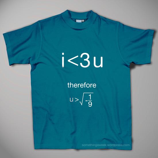 i <3 u shirt