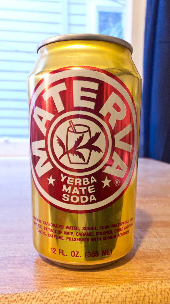 Yerba Mate Soda