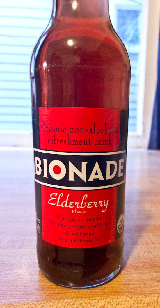 Elderberry Bionade