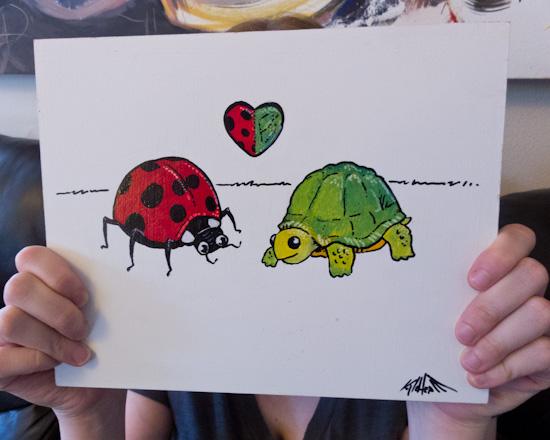 Ladybug Turtle-2