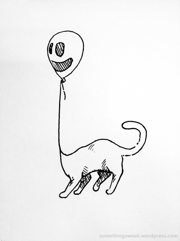 This is what it would look like if a cat was a balloon. ...Probably.